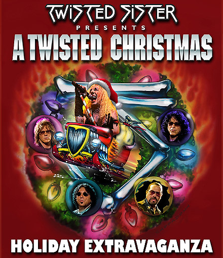 Twisted Sister Christmas.Twisted Sister Heavy Metal Christmas